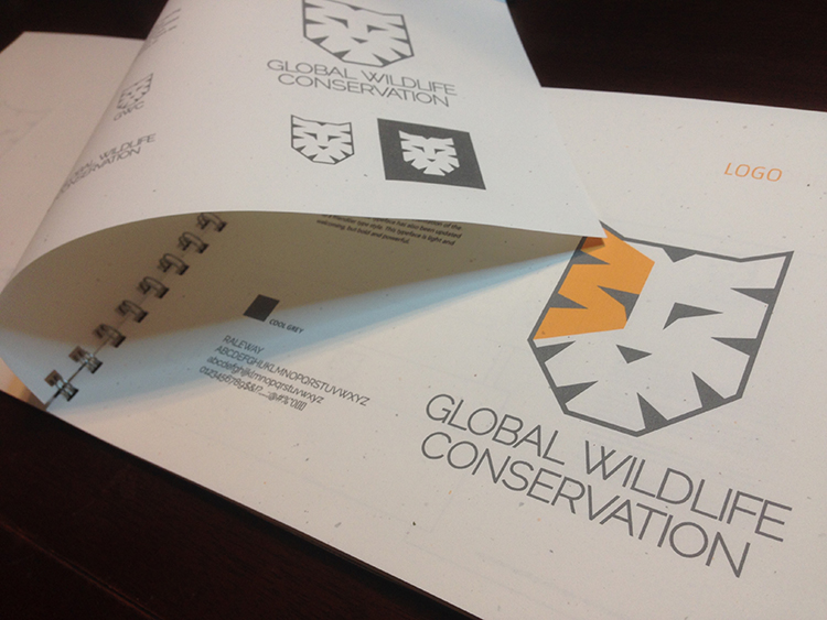 Global Wildlife Consevation Logo Presentation book